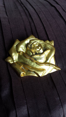 Romy - Printemps sculpted golden rose