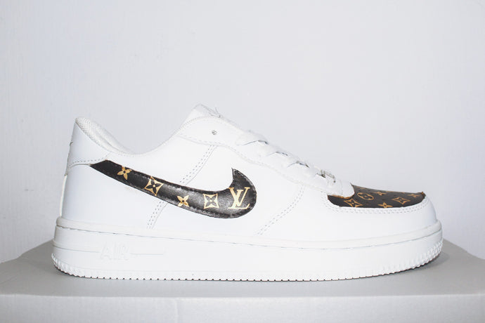 LV Leather Print Air Force 1