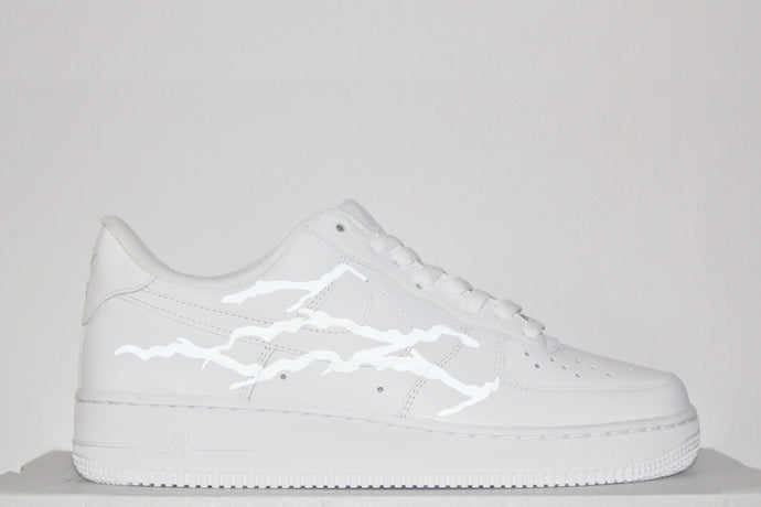 Lightning 3M Reflective Air Force 1 (White)
