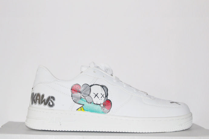Kaws Spray Art Air Force 1