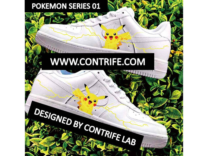 Pokemon Imprinted Air Force 1