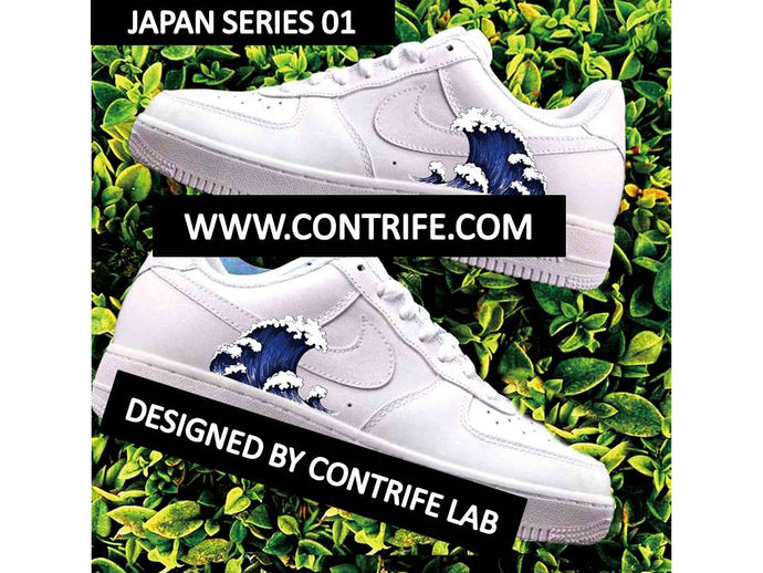 Japan Theme Imprinted Air Force 1