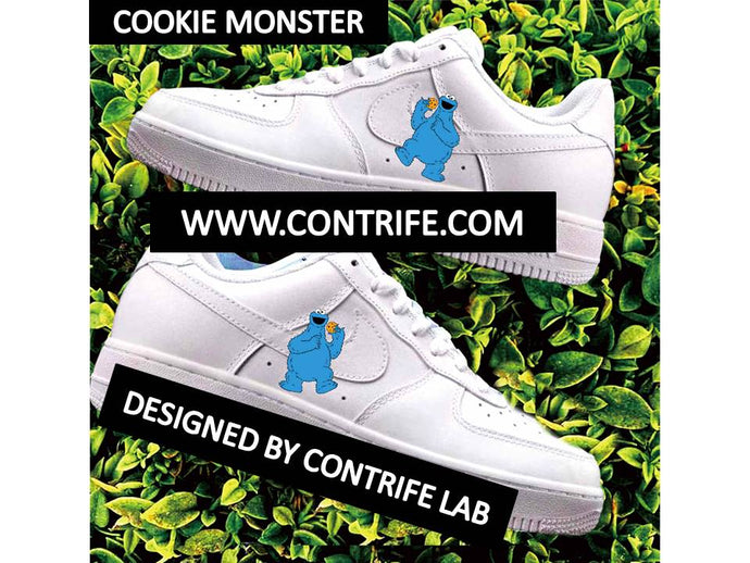Cartoon Characters Imprinted Air Force 1