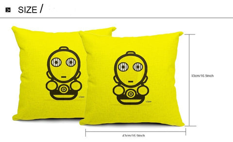Size Cushion Cover