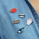 5 in 1 Patches & Pins Set No 3 - Eleven Gift