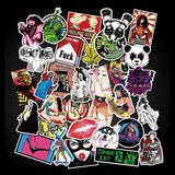 50 Pieces Mixed Cool Stickers (18+) - Eleven Gift