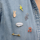5 in 1 Patches & Pins Set 1 - Eleven Gift