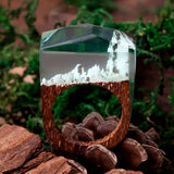 Aspen - Handcrafted Wood Resin Rings - Eleven Gift