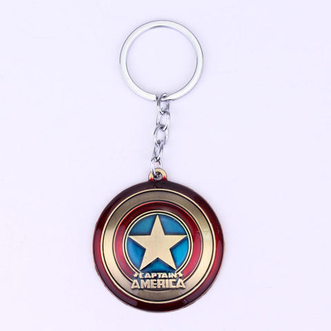 Captain America Shield Keychain - Eleven Gift