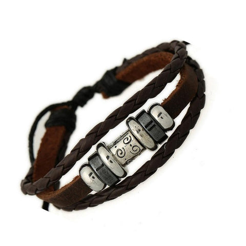 Surfer Leather Bracelet - Eleven Gift