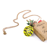 Crystal Pineapple Necklace - Eleven Gift