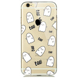 Cute Ghost iPhone Clear Case - Eleven Gift