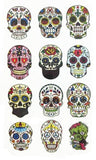 Day of The Dead Small Sticker Tattoo - Eleven Gift