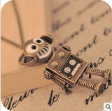 Retro Robot Necklace - Eleven Gift