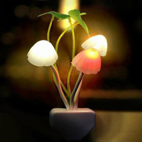 Cute Romantic Mushroom Night Light