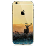 Deer Transparent Soft Skin Case