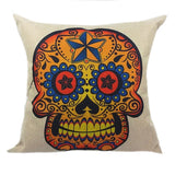 Diamond Star Sugar Skull Pillow Case - Eleven Gift