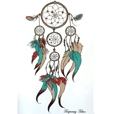 Dreamcatcher Sticker Tattoo No-2 - Eleven Gift