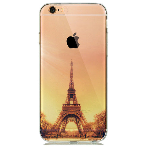 Eiffel Tower Transparent Soft Skin Case