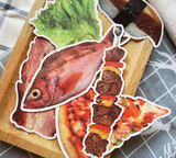 Food Stickers - 32 Pieces - Eleven Gift