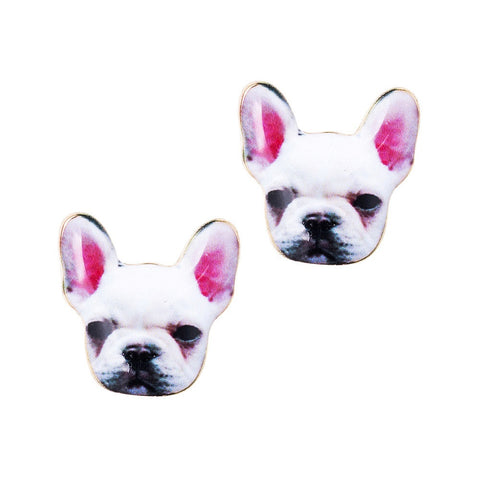 French Bulldog Earrings - Eleven Gift