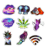 Galaxy Art Stickers - 28 Pieces - Eleven Gift