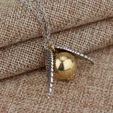 Harry Potter Golden Snitch Necklace - Eleven Gift