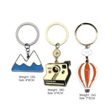 Hot Air Balloon Keychain - Eleven Gift
