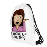 I Woke Up Like This (emoji) - Eleven Gift