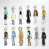 Interdimensional  Rick and Morty Stickers - Eleven Gift
