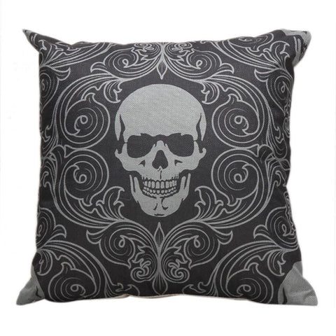Jacquard Skull Pillowcase - Eleven Gift