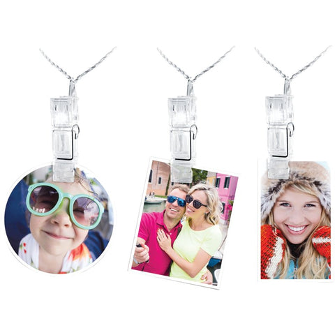LED Fairy Lights with Photo Clips - Eleven Gift