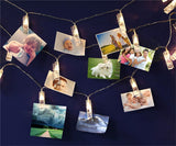 LED Fairy Lights with Photo Clips - 20 Clips - Eleven Gift
