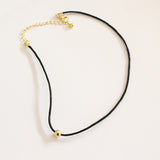 Leather Chain Choker