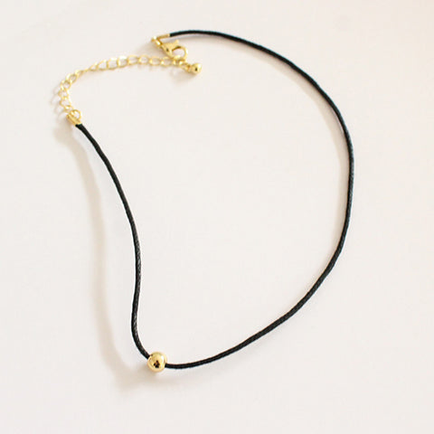 Leather Chain Choker - Eleven Gift
