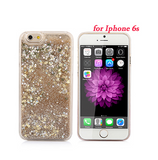 Liquid Glitter Sand Star iPhone Case - Multicolor cute