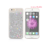 Liquid Glitter Sand Star iPhone Case - Multicolor