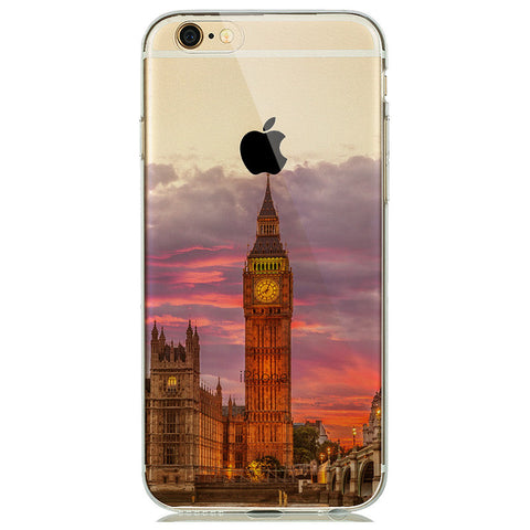 London Big Ben Transparent Soft Skin Case - Eleven Gift