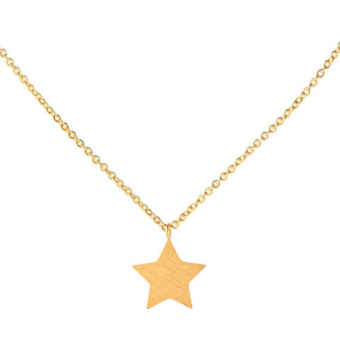 Lucky Star Necklace Gold - Eleven Gift