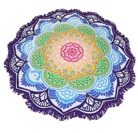 Limited Edition Lotus Mandala Tapestry - Design 1 - Eleven Gift
