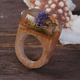 Monteverde  - Handcrafted Wood Resin Rings - Eleven Gift