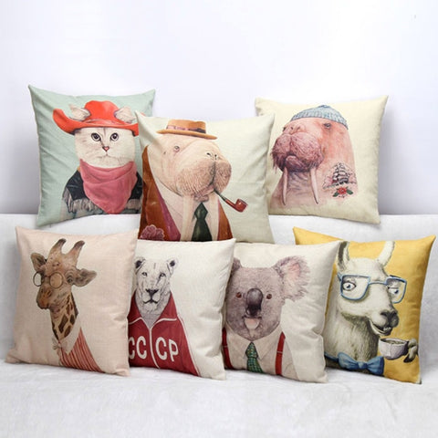 Mr. Animal Pillowcase - Eleven Gift