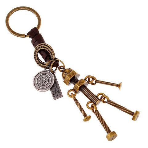 Mr. Screw Keychain