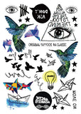 Multi Design Sticker Tattoo No -3 - Eleven Gift
