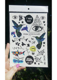 Multi Design Sticker Tattoo No -3