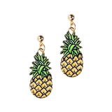 Pineapple Earrings - Eleven Gift