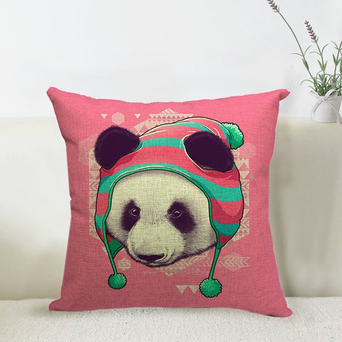 Pink Panda Pillowcase