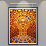 Psychedelic Art Silk Poster - Progress Of The Soul - Eleven Gift
