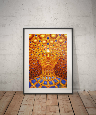 Psychedelic Art Silk Poster - Progress Of The Soul