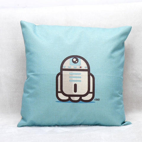 Cute Star Wars Cushion Cover - Eleven Gift